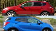 Essai Nissan Qashqai vs Opel Mokka