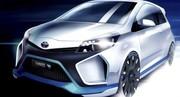 Le concept Toyota Yaris Hybrid-R dévoile sa motorisation