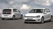 Volkswagen e-Golf et e-Up