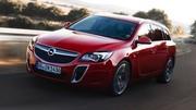 Opel Insigna OPC 2013 : mise à jour technique et esthetique pour la plus sportive des opel