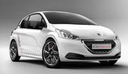 La Peugeot 208 Hybrid FE se dévoile avant Francfort
