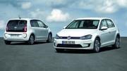 Volkswagen e-Golf et e-up! 2013 : de 160 à 190 km d'autonomie