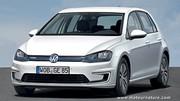 Premières caractéristiques de la Volkswagen e-Golf