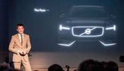 Volvo XC90 (2015) : un petit aperçu lors de la présentation du Concept Coupé