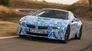 La BMW i8 sous le feu des projecteurs le 10 septembre à Francfort