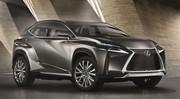 Lexus: Le Concept crossover LF-NX au Salon de Francfort