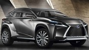 Lexus LF-NX Concept : « Finesse » de style, vraiment ?