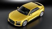 Nouveau concept Audi Sport Quattro