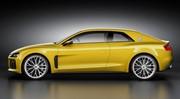Audi: le concept Quattro Sport dévoilé avant Francfort