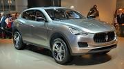 Maserati Levante : production prévue l'année prochaine ?
