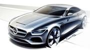 Mercedes Classe S Coupé Concept : présentation confirmée à Francfort !