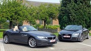 Essai Audi TT 1.8 TFSI vs BMW Z4 sDrive 18i : Service minimum, plaisir maximum ?
