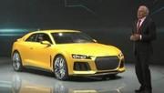 Audi Sport Quattro Concept, puissance maximale
