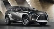 Lexus LF-NX, un look extrême