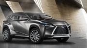 Lexus LF-NX Concept : très tranchant