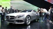 Mercedes-Benz Concept S-Class Cpé : Une belle et luxueuse surprise sur le stand Mercedes