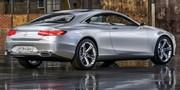 Mercedes Classe S Concept : sculptural