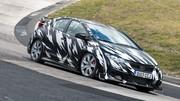 La Honda Civic Type R en test sur le Nurburgring