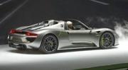 Porsche 918 Spyder : électrisante !