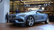 Volvo C Coupé : Un souffle nouveau sur le stand Volvo à Francfort