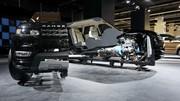 Land-Rover Concept : Le Range Rover se coupe en deux