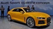Audi : un modèle de série basé sur le Quattro Concept ou le Sport Quattro Concept ?