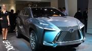 Lexus LF-NX : aiguisé