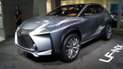 Lexus LF-NX Concept, sculpté dans le métal
