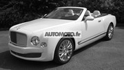 Bentley Mulsanne Cabriolet 2014 : premières photos exclusives !