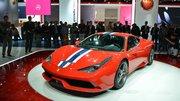 Ferrari 458 Speciale : la barre des 600 ch !