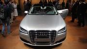 Audi A8 restylée : dans la matrice