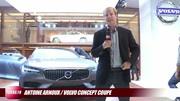Volvo Concept Coupé en vidéo live