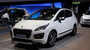 Peugeot 3008 restylé : nouveau visage