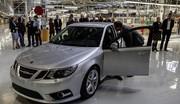 L'usine Saab en Suède a produit une voiture !