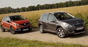 Essai Renault Captur et Peugeot 2008 : ubiquistes en devenir