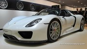 Porsche 918 Spyder : l'hybride pour la performance