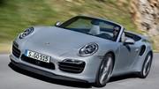 Porsche 911 Turbo Cabriolet 2014 : les premières photos