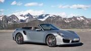 Porsche 911 Turbo et Turbo S Cabriolet