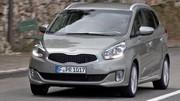 Euro NCAP : 5 étoiles pour le Kia Carens (2013)