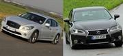 Essai Infiniti M35h vs Lexus GS 450h : Hybride abattue