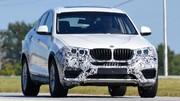 BMW X4 : Quasiment tout nu !