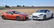 Essai Toyota GT86 vs Peugeot RCZ : divergence d'opinions