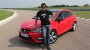 Essai Seat Ibiza Cupra par Soheil Ayari: pas joueuse mais efficace