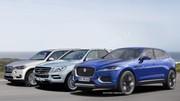 Futur SUV Jaguar contre X5 et ML : Offensive sportive