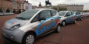 Lancement du service d'autopartage BlueLy à Lyon