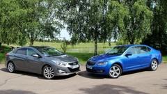 Essai Hyundai i40 vs Skoda Octavia : la famille atout prix