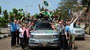 Silk Trail, 16853 km en Range Rover hybride