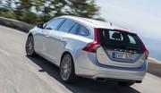 Essai de la nouvelle Volvo V60 D4 à quatre cylindres : Moins de cylindre, plus de tonus