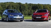 Essai Peugeot 308 vs Volkswagen Golf : calife à la place du calife ?