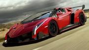 Lamborghini Veneno Roadster : La soucoupe violente !